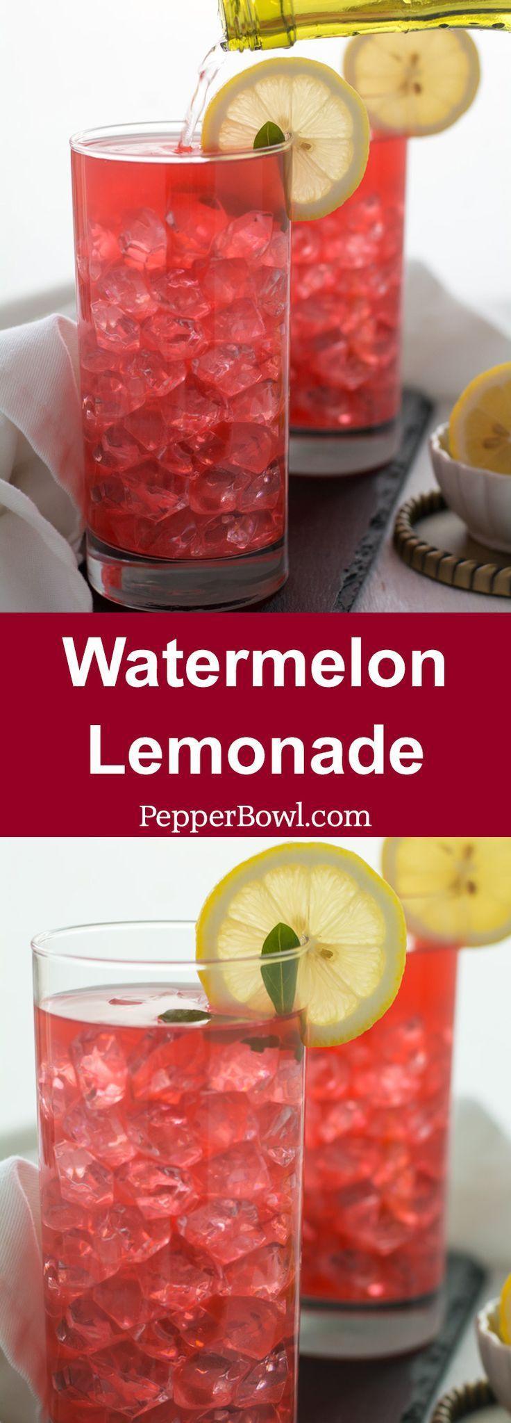 Hochzeit - Watermelon Lemonade