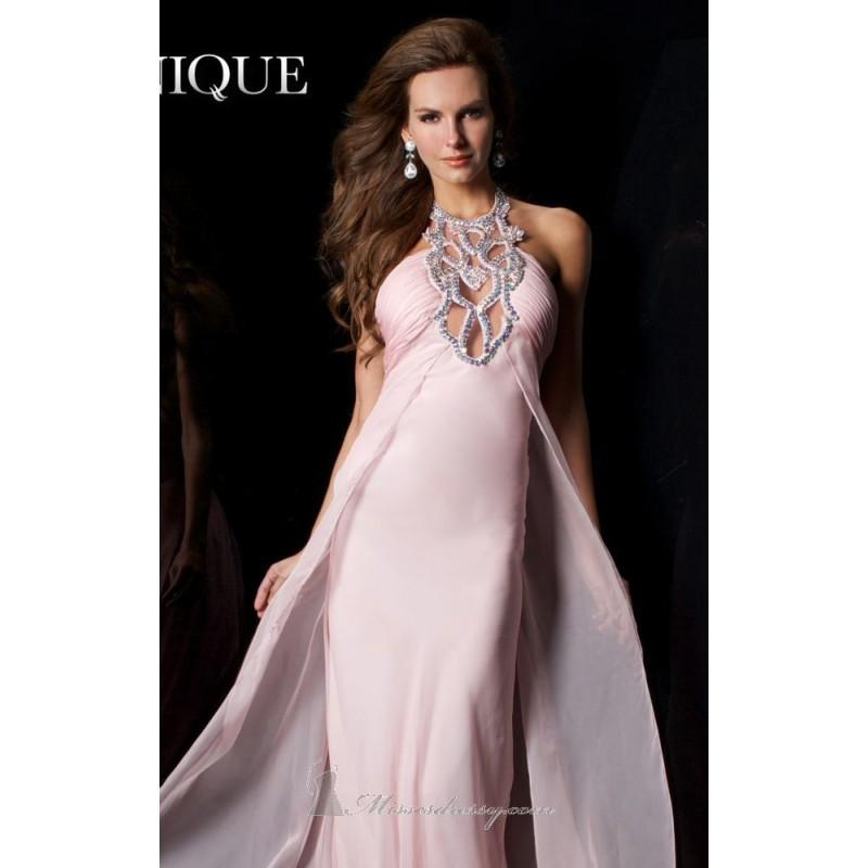Mariage - Haltered Empire Gown Dresses by Janique K6045 - Bonny Evening Dresses Online