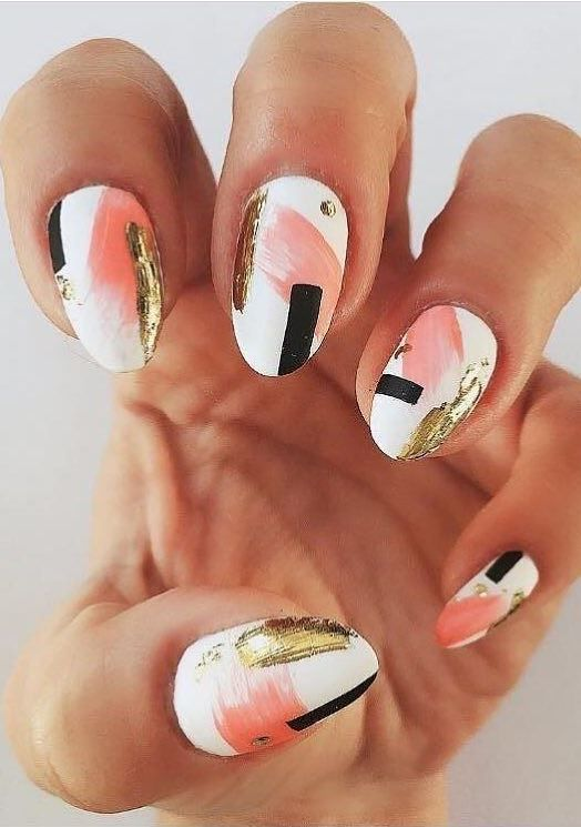 Wedding - Graphic Nail Art