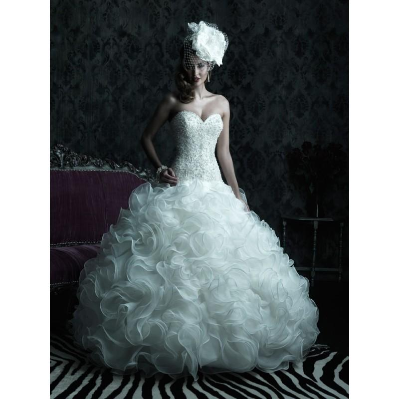 Mariage - Allure Couture C220 Ruffled Skirt Wedding Dress - Crazy Sale Bridal Dresses