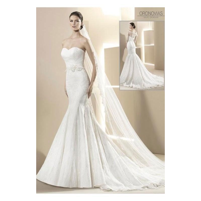 Mariage - Vestido de novia de Oronovias Modelo 13105 - Tienda nupcial con estilo del cordón