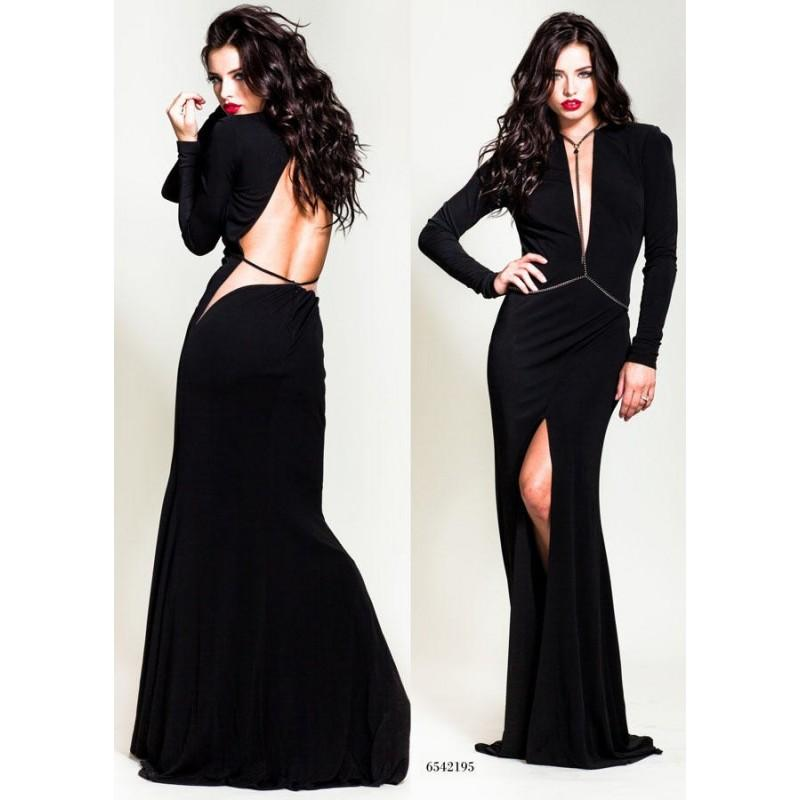 Mariage - Nicole Bakti 6542 Black,Red,Royal,Emerald Dress - The Unique Prom Store