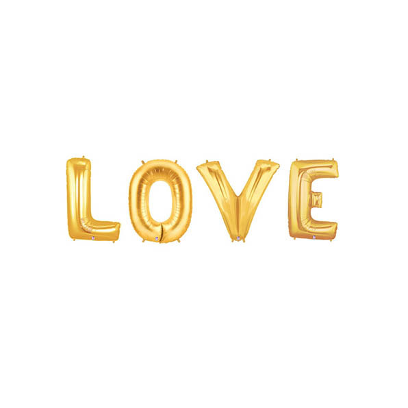 Свадьба - Love Gold Letter Balloons, Love Letter Balloons, Gold Love Balloon Banner, Engagement Balloons, Engagement Photo Props, Bachelorette Party