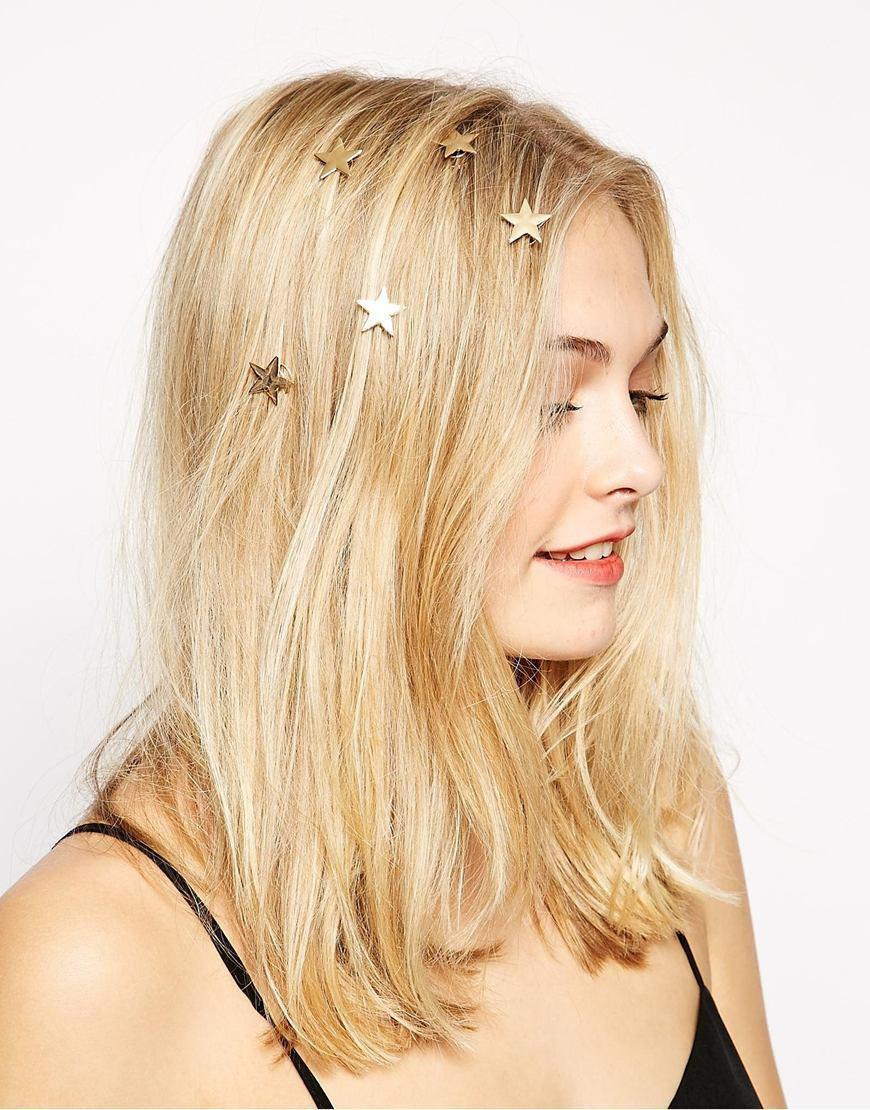 Свадьба - Star Bobby Pins, Gold Bobby Pins, Cute Bobby Pins, Star Hair Clip, Star hair Pins, Gold Hair Clip, Children Bobby Pins, Star Bobby Pins