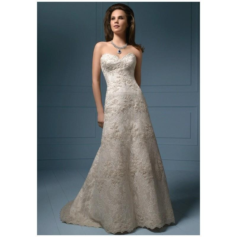 Mariage - Alfred Angelo Sapphire 801NB/801CNB - Charming Custom-made Dresses