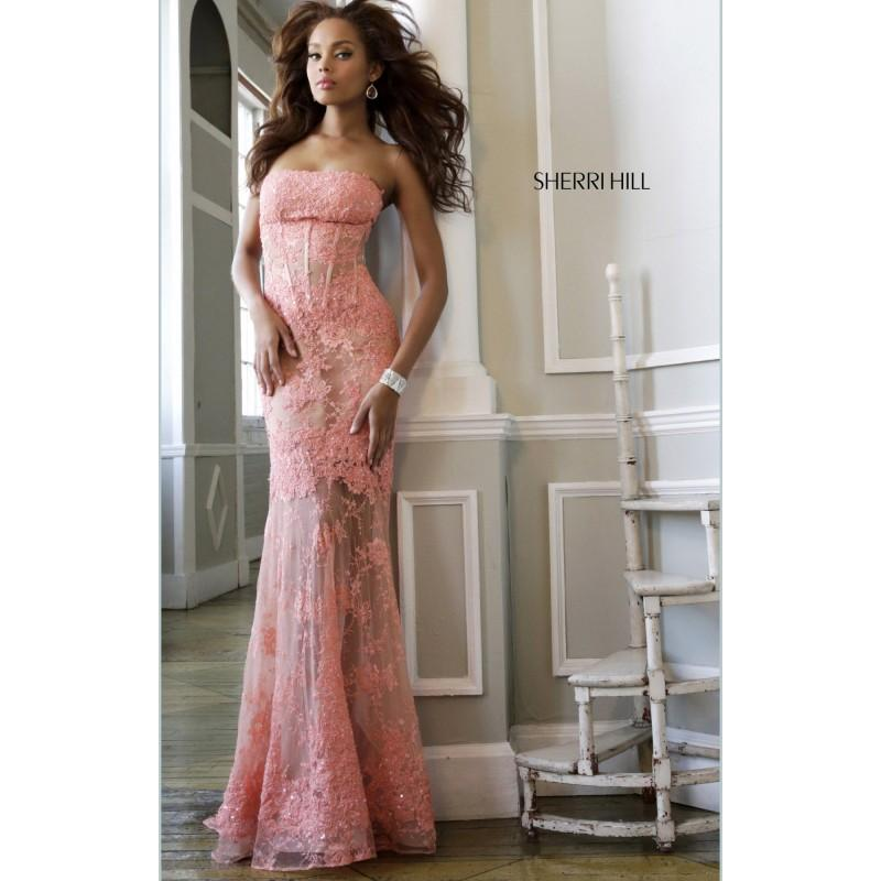 Boda - Sherri Hill - 11084 - Elegant Evening Dresses