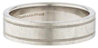 Hochzeit - Tiffany & Co. Double Milgrain Wedding Band