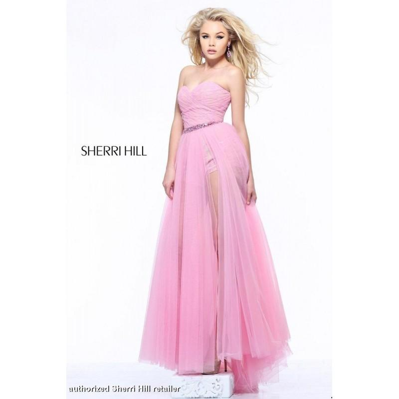 Wedding - Ice Mint/Nude Sherri Hill 1544 - Brand Wedding Store Online