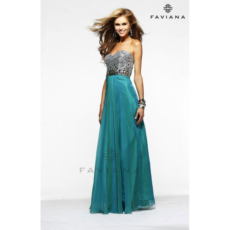 Wedding - Faviana - Style 7300 - Formal Day Dresses