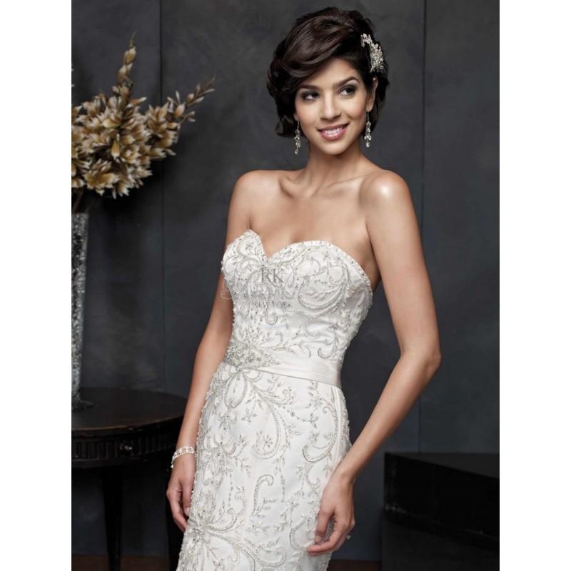 Wedding - Kenneth Winston for Private Label Spring 2014 - Style 1544 - Elegant Wedding Dresses