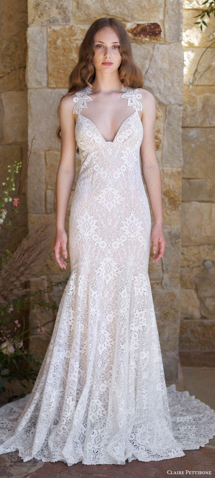 Wedding - Claire Pettibone Romantique Spring 2018 Wedding Dresses — The Vineyard Bridal Collection