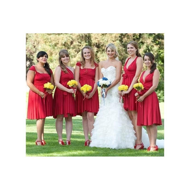 "Hochzeit - Bridesmaids Custom ""Infinity"" Dresses - Hand-made Beautiful Dresses"