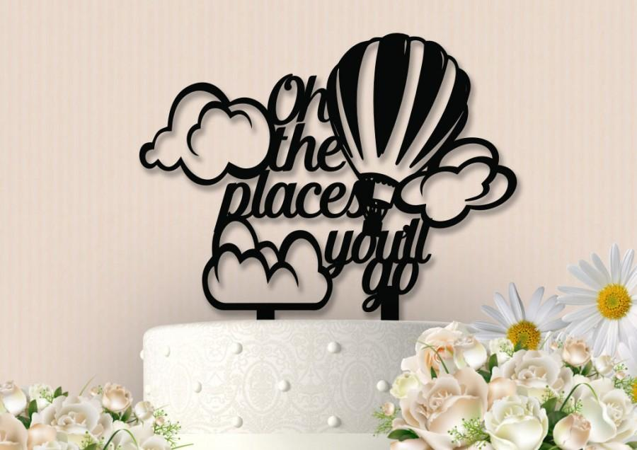 Свадьба - Oh the Places You'll Go Topper