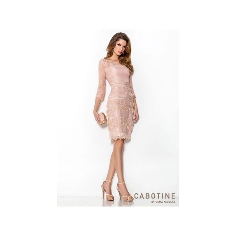 Mariage - Vestido de fiesta de Cabotine Modelo 5006145 - Tienda nupcial con estilo del cordón
