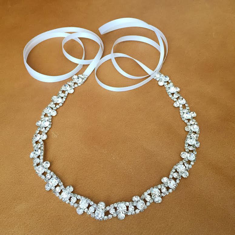 Wedding - Rhinestone Headband - Wedding Hairband