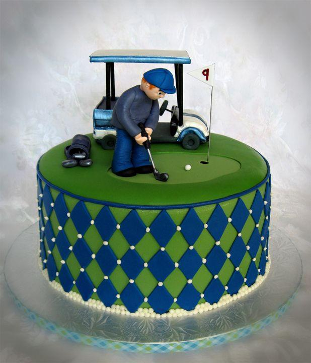 Golf Cake Birthday Cakes