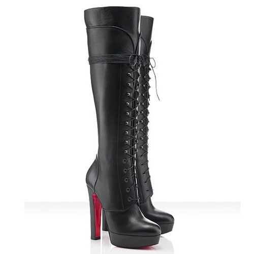 official photos a7603 7e42f Christian Louboutin Nardja 140mm Boots Black - $273.00 : Red ...