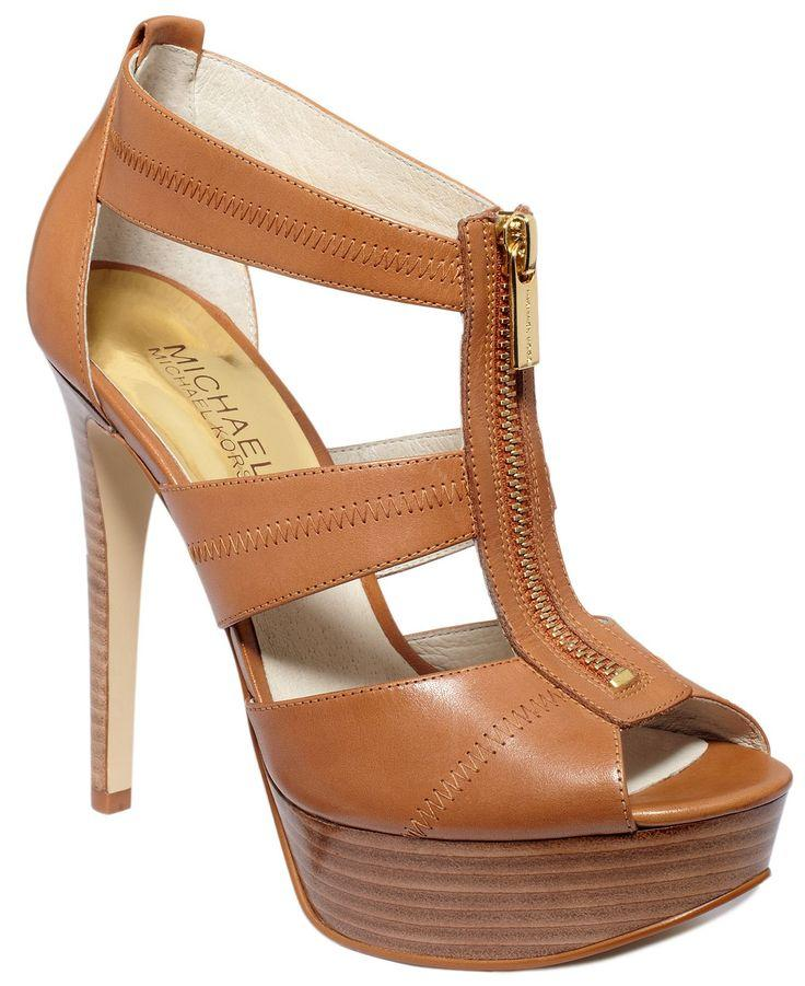 90838aa691b1 MICHAEL Michael Kors Berkley Platform Sandals - Shoes - Macy s ...