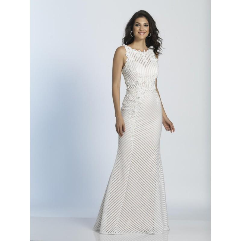 Wedding - Ivory Dave and Johnny A5119  Dave and Johnny - Elegant Evening Dresses