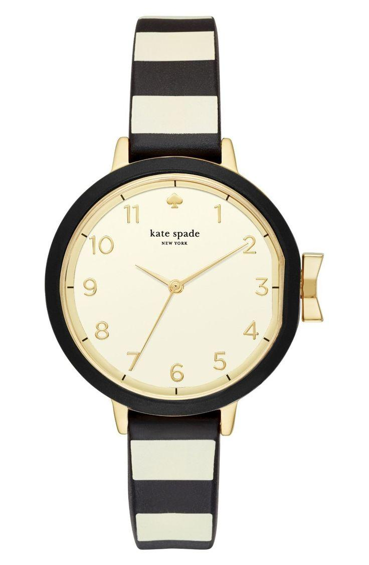Mariage - Park Row Silicone Strap Watch, 34mm