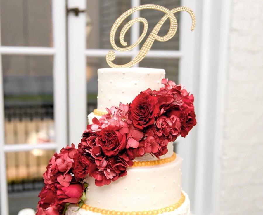 Bling Wedding Cake Topper