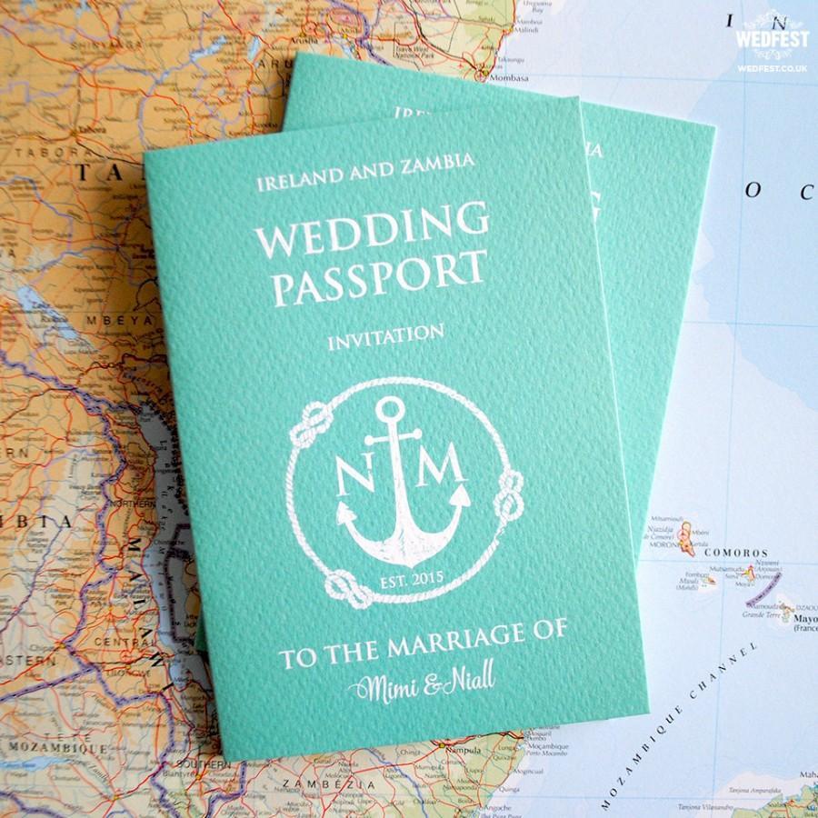 Passport wedding invitation sample pack 2722008 weddbook passport wedding invitation sample pack stopboris Images