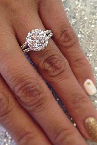 Wedding - 30 Custom Engagement Rings That Feel Like They Were Created Just For You