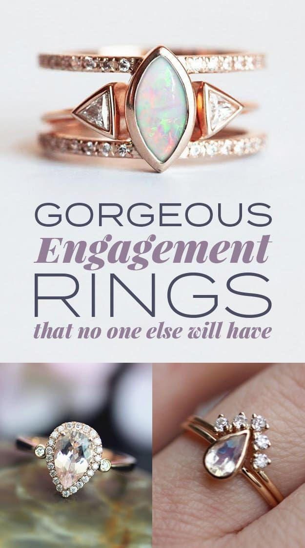 Wedding - 31 Gorgeous Engagement Rings That No One Else Will Have