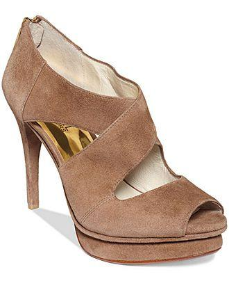e34c3a70c8be MICHAEL Michael Kors Elena Platform Sandals - Shoes - Macy s ...