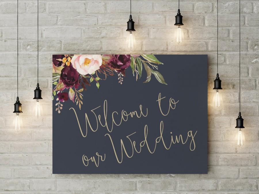 Свадьба - wedding welcome sign, wedding welcome, wedding printables, welcome sign, DIY wedding signs, the Lucy Suite