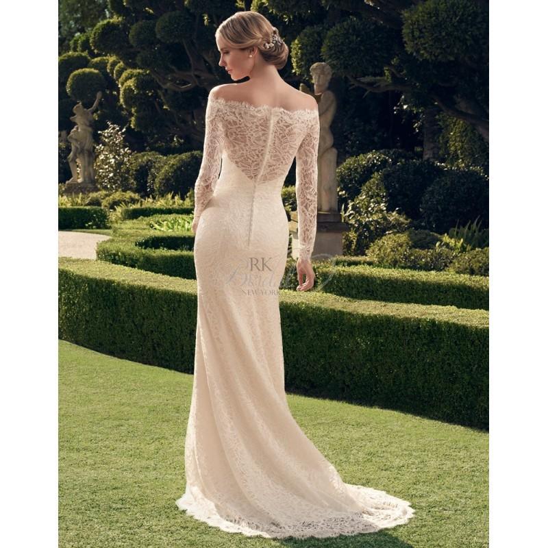 زفاف - Casablanca Bridal Fall 2014 - Style- 2169 Floor Length - Elegant Wedding Dresses