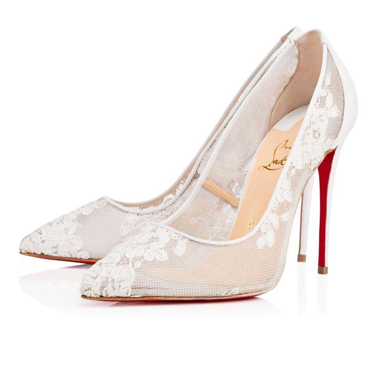 9d9a4eb5448e Shoe - Follies Lace 100mm White Lace  2722643 - Weddbook