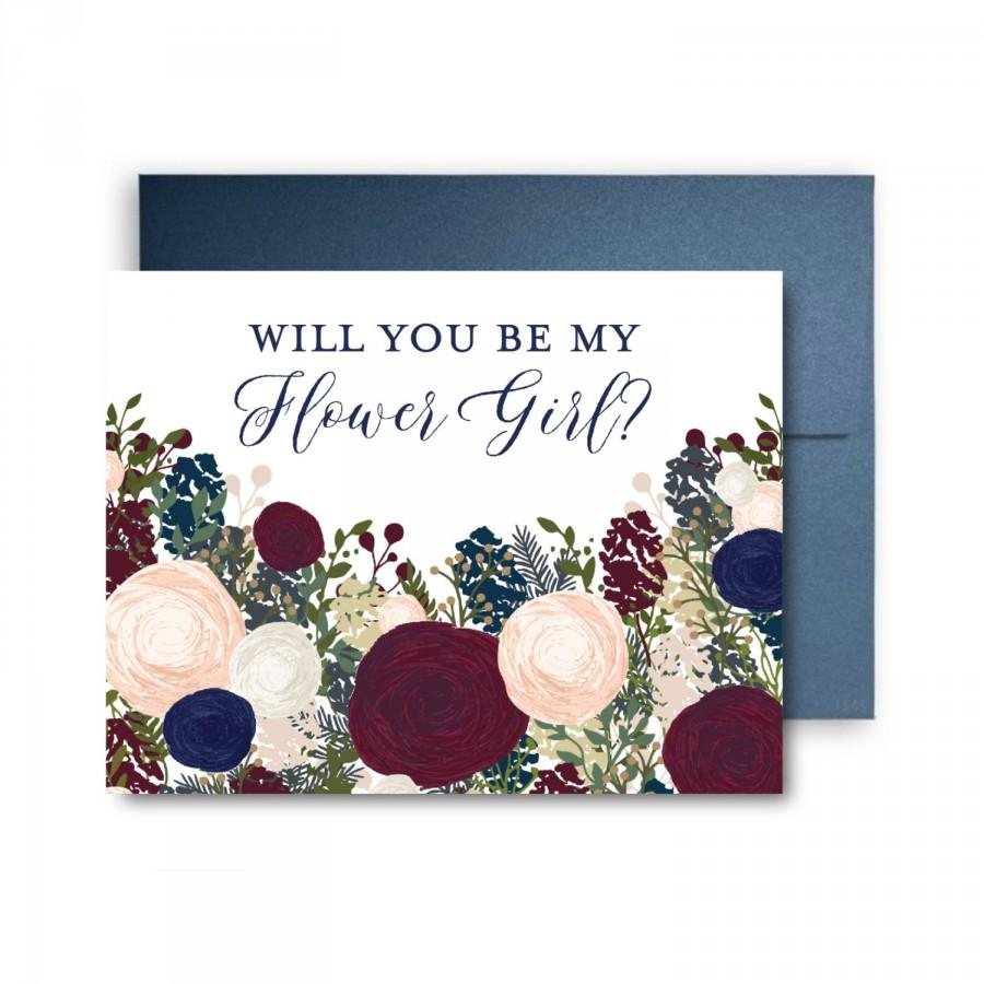 Hochzeit - Will You Be My Bridesmaid Card, Bridesmaid Maid of Honor Gift, Will You Be My Maid of Honor, Matron of Honor, Brides Man, Flower Girl #CL137