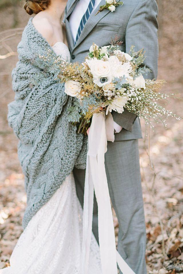 زفاف - Cozy Winter Textures Inspiration Shoot