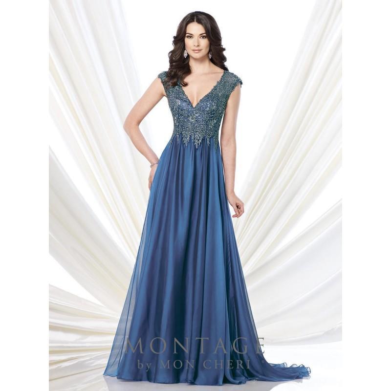 Royal Blue Destination Dressing Montage By Mon Cheri 215900 ...