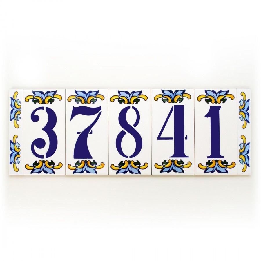 Modern House Number Address Plaques Numbers