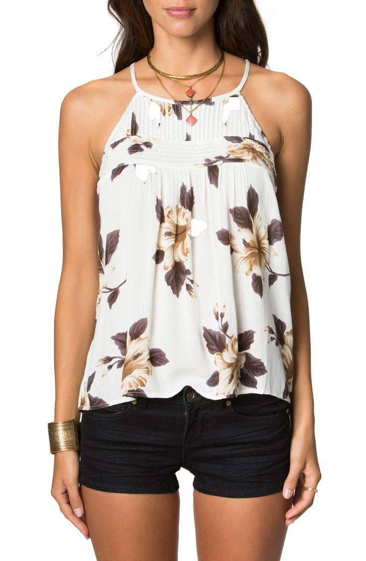 Wedding - Olympia Floral Print Woven Top