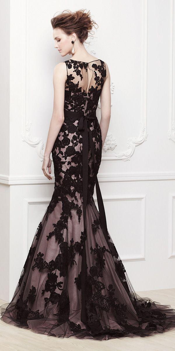 Wedding - 30 Black Wedding Dresses With Edgy Elegance