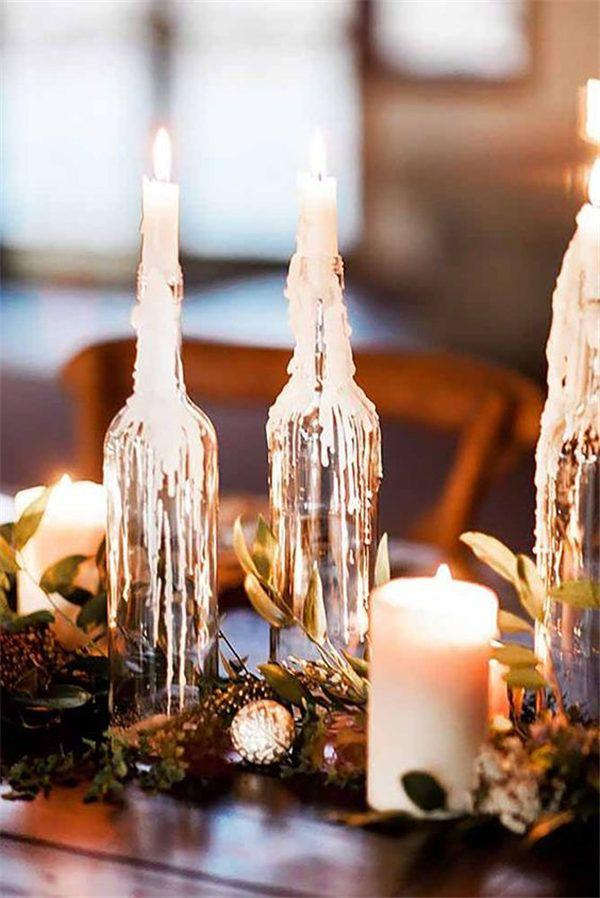 Wedding - 20 Stuning Wedding Candlelight Decoration Ideas You Will Love