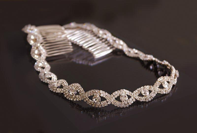 Rose Gold Wedding Headband 61ad7653833