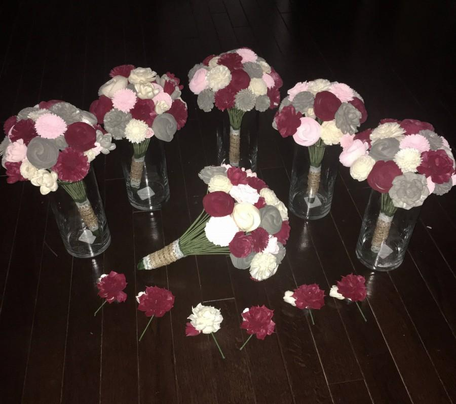 Hochzeit - Custom Sola Wood Flower Wedding Bundles