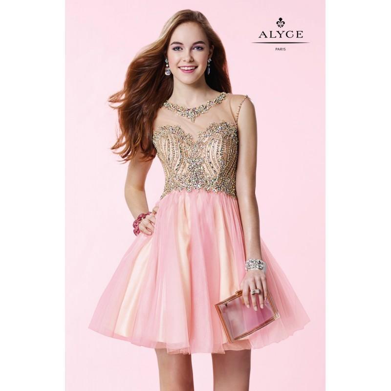 Wedding - Pink Alyce Paris Homecoming 3645 Alyce Paris Shorts - Top Design Dress Online Shop