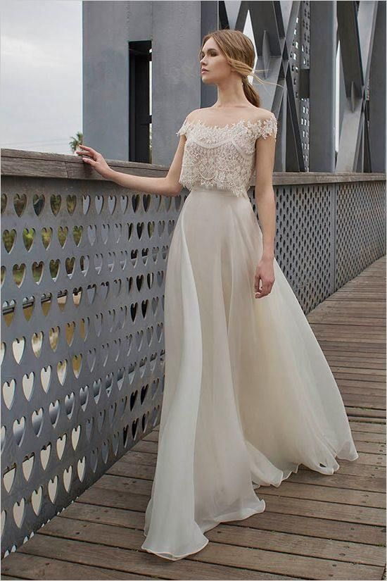 زفاف - Editor's Picks: 20 Edgy Lace Wedding Dresses
