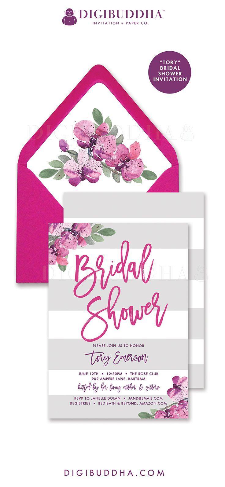 Hochzeit - Digibuddha Bridal Shower Invitations