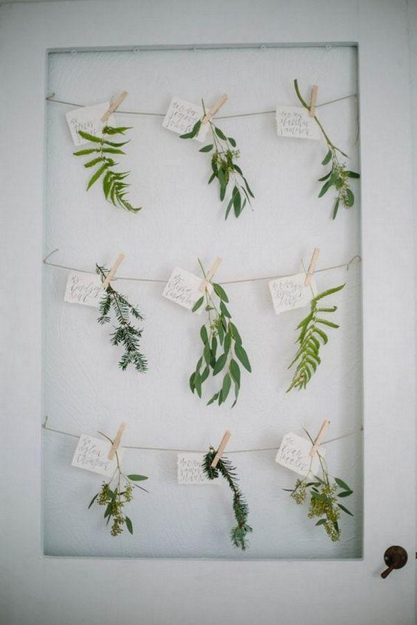 Wedding - Greenery Wedding Stationery