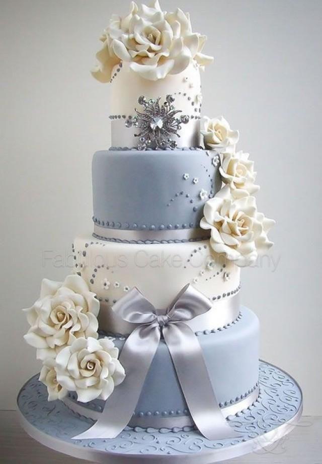 Gateau Baby Blue Cake 2724693 Weddbook