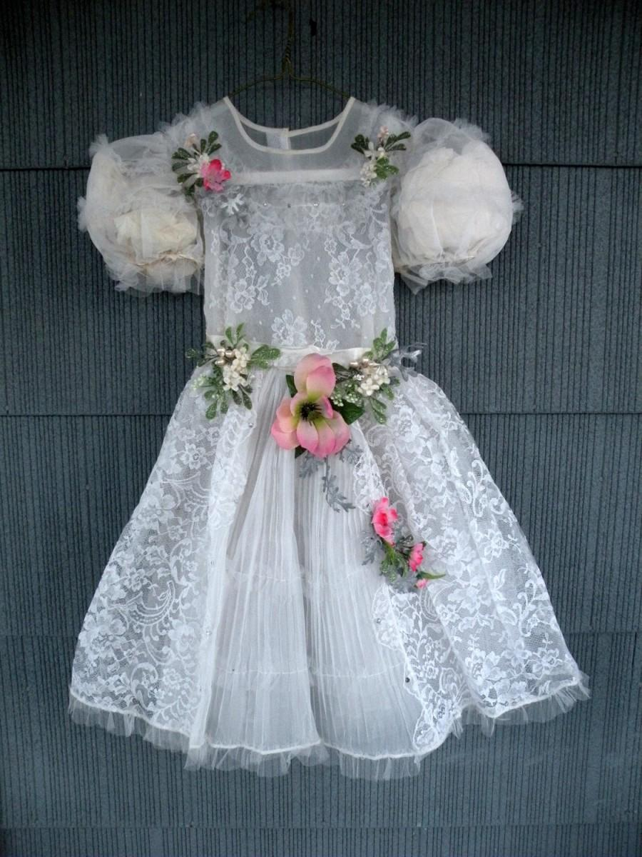 What to get for a vintage wedding flower girl dress off white lace what to get for a vintage wedding flower girl dress off white lace pink wedding shoes sandal boho bohemian country rustic pink flowers mightylinksfo