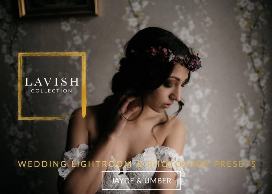 Свадьба - LAVISH Collection Wedding Lightroom And Photoshop Presets Professional Wedding Presets - The Lavish Collection For Lightroom And Photoshop