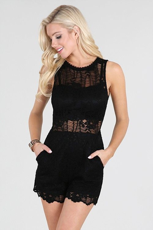 Wedding - Lace Romper