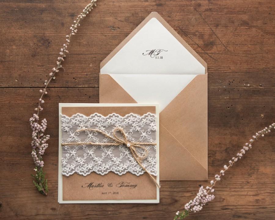 Rustic Wedding Invitation Suite (20), Wedding Invitations Rustic ...